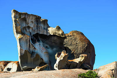 Remarkable Rocks Art Print by Andrew Michael