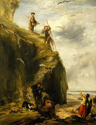 Painting - Returning From The Haunts Of The Seafowl by William Collins