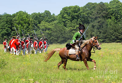 Photograph - Revolutionary War Reenactment by Kevin McCarthy
