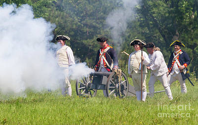 Photograph - Revolutionary War Reenactors by Kevin McCarthy