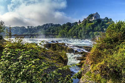 Photograph - Rhinefalls, Switzerland by Elenarts - Elena Duvernay photo