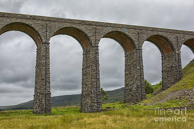 Photograph - Ribblehead Viaduct by Patricia Hofmeester