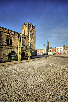 Market Photograph - Richmond, North Yorkshire by Nichola Denny