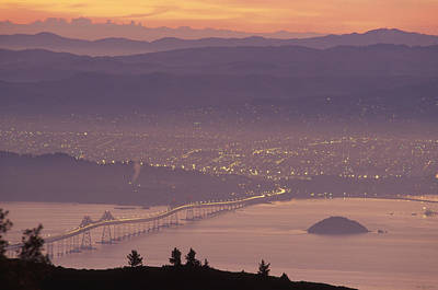 Richmond - San Rafael Bridge Art Print