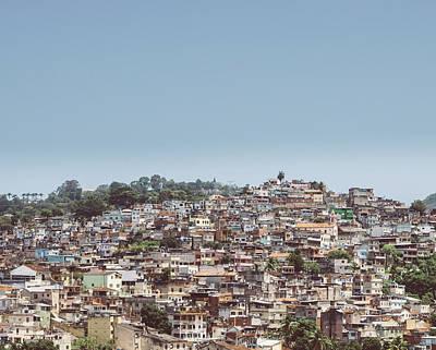 Photograph - Rio De Janeiro Favela by Alexandre Rotenberg