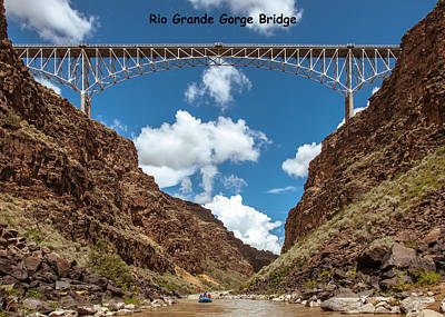 Photograph - Rio Grande Gorge Bridge by Britt Runyon