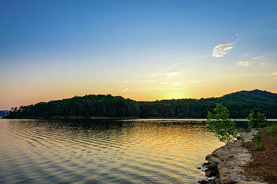 Photograph - Ripples On The Lake by Michael Scott