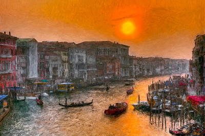 Art Print featuring the photograph Riva Del Ferro. Venezia by Juan Carlos Ferro Duque