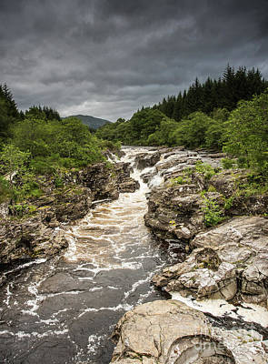 Photograph - River Orchy by Keith Thorburn LRPS