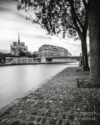 Photograph - River Seine - Paris by Brian Jannsen