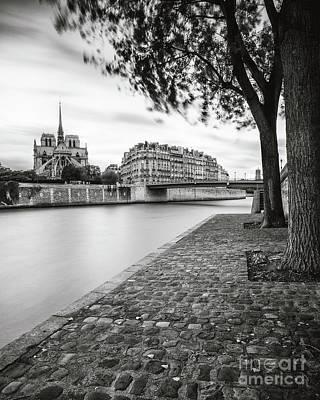Photograph - River Seine - Paris by Brian Jannsen