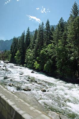 Walking Photograph - Rivers Of Yosemite by LeeAnn McLaneGoetz McLaneGoetzStudioLLCcom