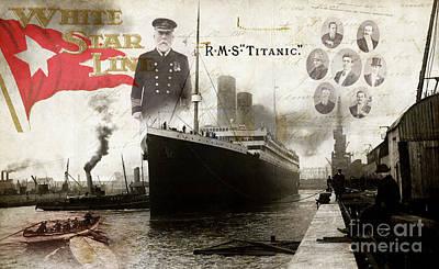 Belfast Photograph - Rms Titanic by Jon Neidert