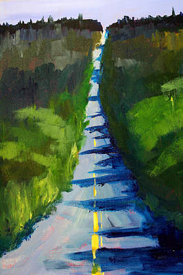Painting - Road Trip by Nancy Merkle