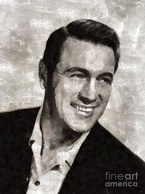 Juan Bosco Forest Animals Royalty Free Images - Rock Hudson Hollywood Actor Royalty-Free Image by Mary Bassett