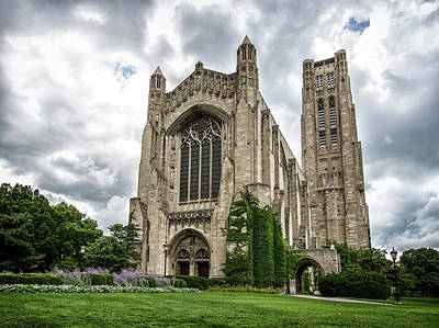 Uic Photograph - Rockefeller Chapel Chicago by Mike Burgquist
