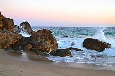 Photograph - Rocks At Point Dume In Malibu by Tommi Trudeau