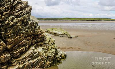 Photograph - Rocks Of Maghera Beach Ireland #16 by Lexa Harpell