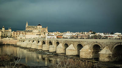 Photograph -  Roman Bridge Of Cordoba by Henri Irizarri