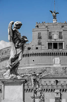 Photograph - Rome - Mausoleum Of Hadrian by Andrea Mazzocchetti