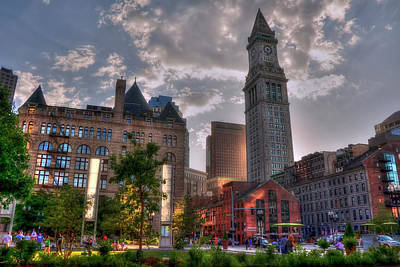 Photograph - Rose Kennedy Greenway - Boston by Joann Vitali