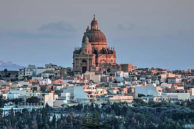 Baptist Photograph - Rotunda Xewkija - Gozo by Joana Kruse