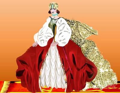 Painting - Royalty by Belinda Threeths