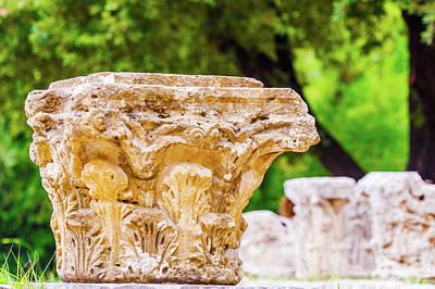 Photograph - Ruins In Olympia, Greece by Marek Poplawski