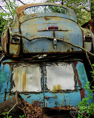 Rusted Series Art Print by Laura Atkinson