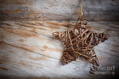 Photograph - Rustic Star by Kati Finell