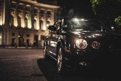 Car Photograph - S Type by Chris M