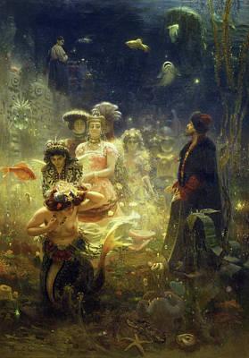 Novel Painting - Sadko by Ilya Repin