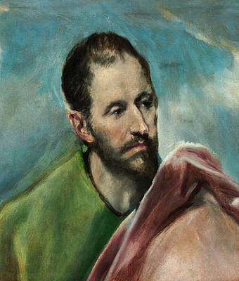 Jacob Painting - Saint James The Younger by El Greco