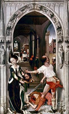 Painting - Saint John The Baptist by Granger