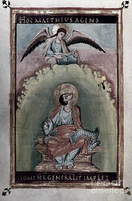 Evangelical Painting - Saint Matthew by Granger