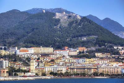 Castello Photograph - Salerno by Joana Kruse