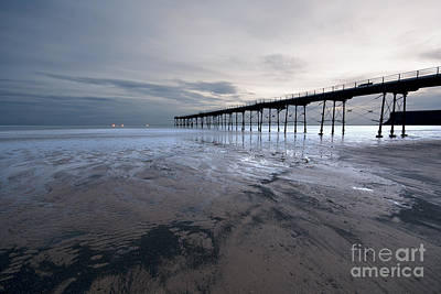 Yorkshire Photograph - Saltburn Pier by Nichola Denny