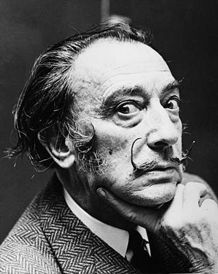 Photograph - Salvador Dali (1904-1989) by Granger