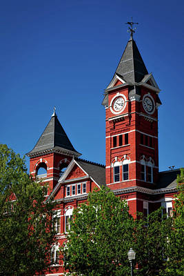 Samford Hall - Auburn University Art Print by Mountain Dreams