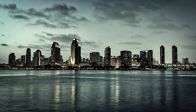 Photograph - San Diego At Sunset by L O C
