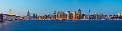 San Francisco Financial District Art Print by Panoramic Images
