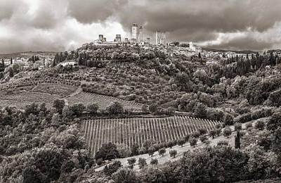 Photograph - San Gimignano Tuscany Italy by Carl Amoth