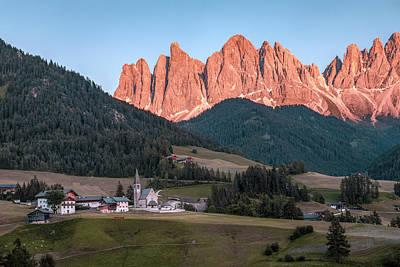 Photograph - Santa Maddalena - Dolomiti by Joana Kruse