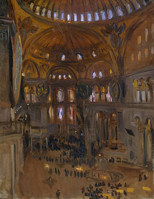 Painting - Santa Sofia by John Singer Sargent