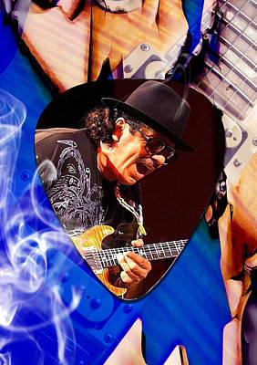 Legend Mixed Media - Santana Art by Marvin Blaine