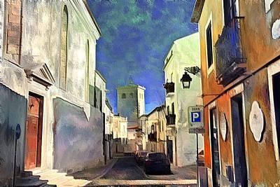 Santarem Art Print by Rui Pinto