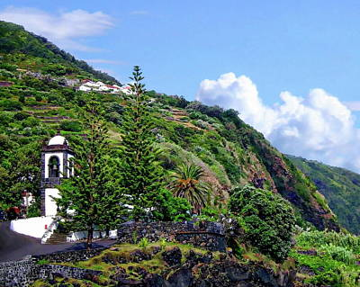 Photograph - Sao Jorge Island by Anthony Dezenzio