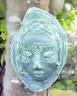 Ceramic Art - Sarah by Sandy McIntire