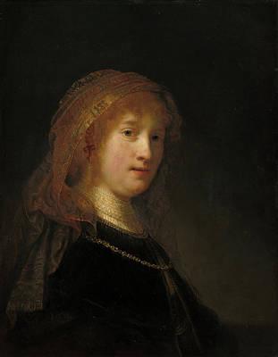 Painting - Saskia Van Uylenburgh by Rembrandt van Rijn