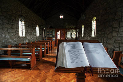 Photograph - Saul Church, Downpatrick by Jim Orr